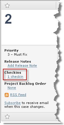 checkins link