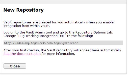 vault instructions