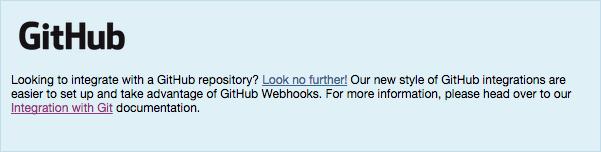 GitHub Integration Banner