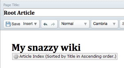 Article Index Placeholder